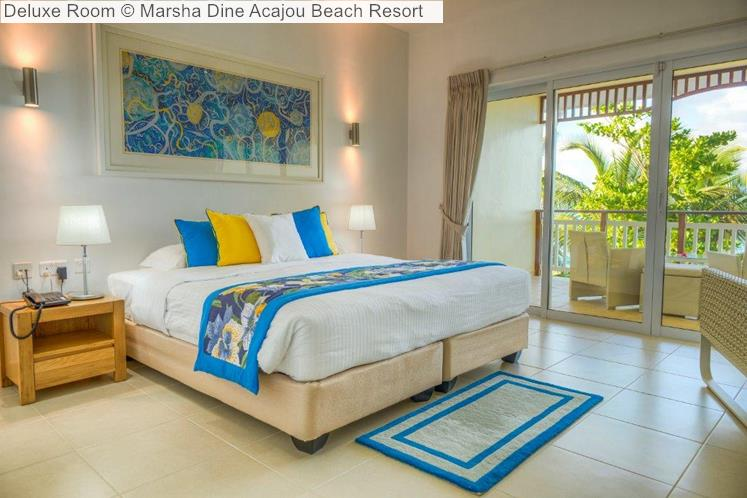 Deluxe Room © Marsha Dine Acajou Beach Resort