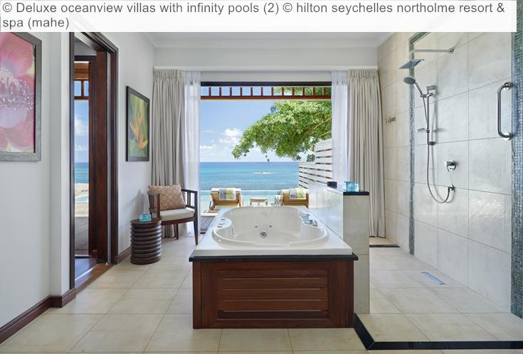 Deluxe Oceanview Villas With Infinity Pools (2) © Hilton Seychelles Northolme Resort & Spa (mahe)