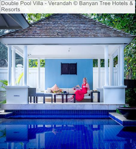 Double Pool Villa Verandah Banyan Tree Hotels Resorts Seychelles