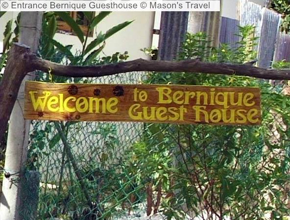 Entrance Bernique Guesthouse © Mason's Travel