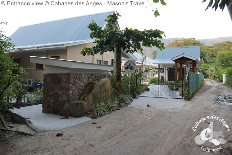 Entrance View © Cabanes Des Anges Mason's Travel