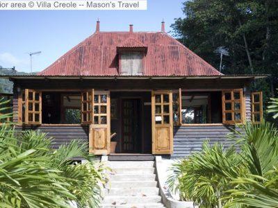 Exterior area Villa Creole