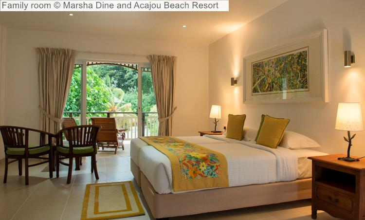 Family room   and Acajou Beach Resort