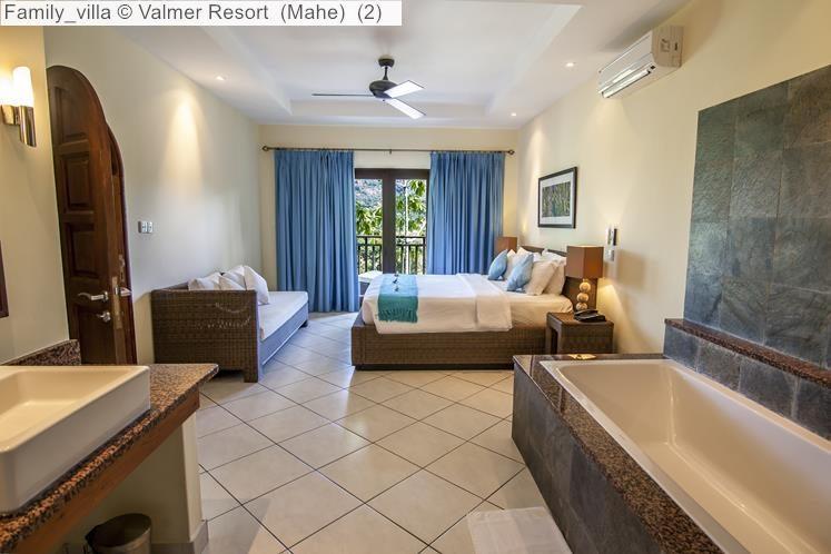 Family villa Valmer Resort Mahe