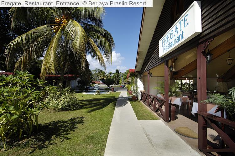 Fregate Restaurant Entrance © Berjaya Praslin Resort