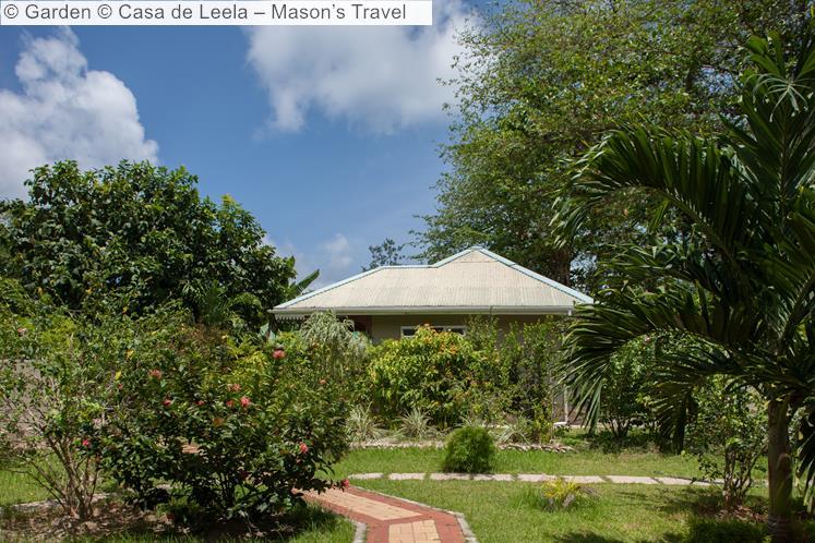 Garden © Casa De Leela – Mason's Travel