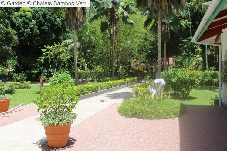 Garden © Chalets Bamboo Vert