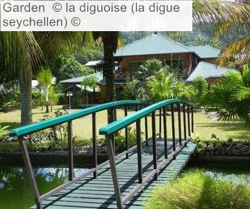 Garden © La Diguoise (la Digue Seychellen) ©