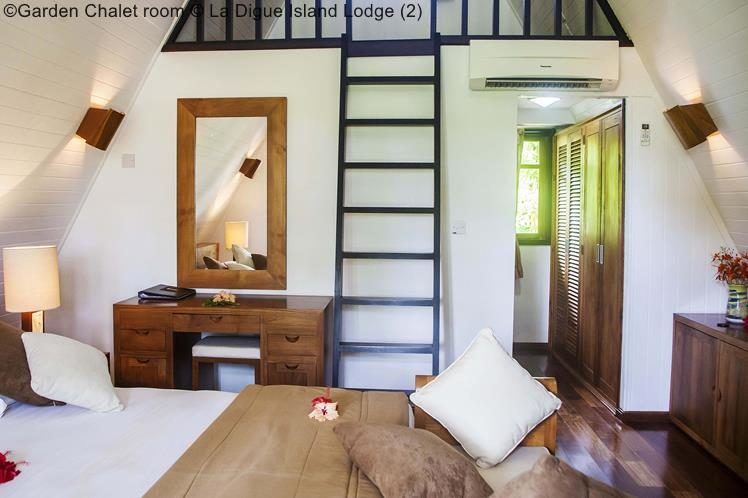 Garden Chalet Room © La Digue Island Lodge