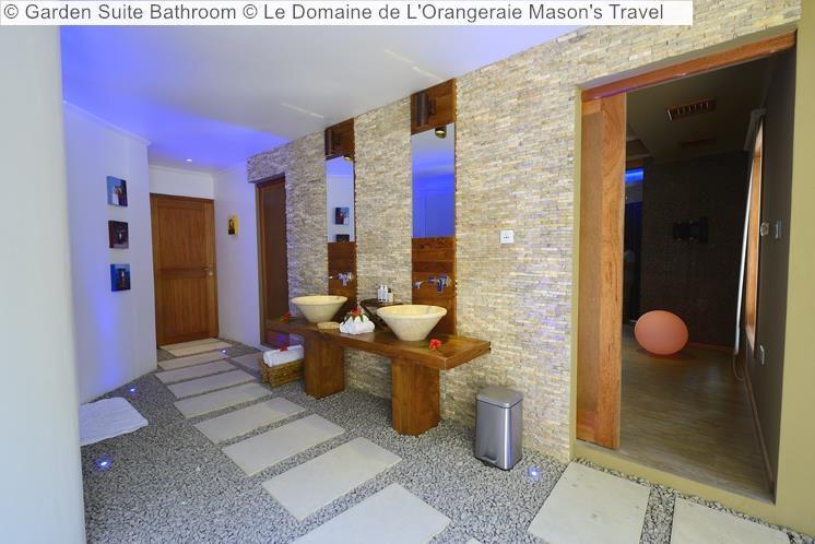 Garden Suite Bathroom Le Domaine de LOrangeraie