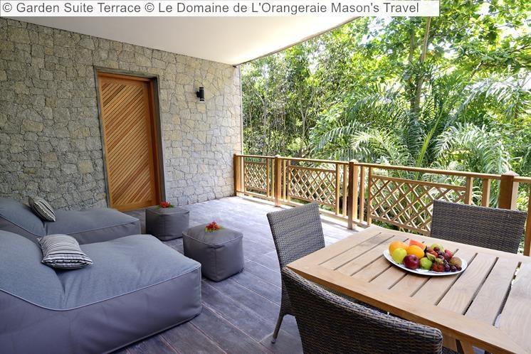 Garden Suite Terrace Le Domaine de LOrangeraie