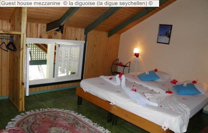 Guest house mezzanine la diguoise la digue seychellen
