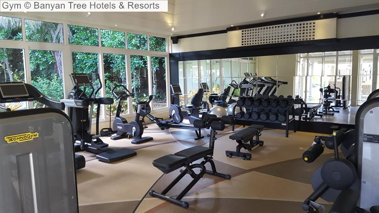 Gym Banyan Tree Hotels Resorts Seychelles