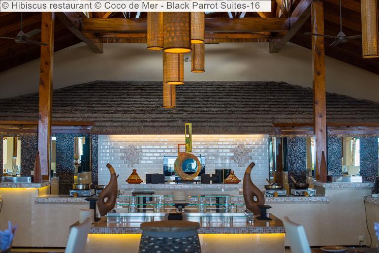 Hibiscus restaurant Coco de Mer Black Parrot Suites