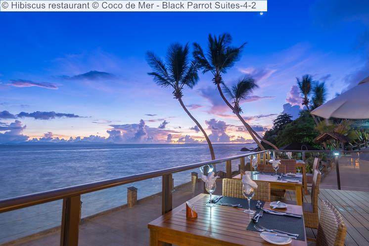 Hibiscus Restaurant © Coco De Mer Black Parrot Suites