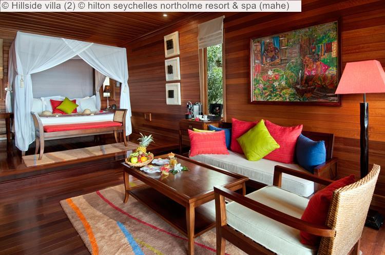 Hillside villa hilton seychelles northolme resort spa mahe