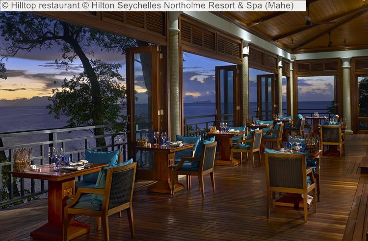 Hilltop restaurant Hilton Seychelles Northolme Resort Spa Mahe