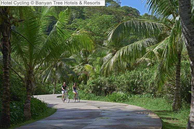 Hotel Cycling Banyan Tree Hotels Resorts Seychelles