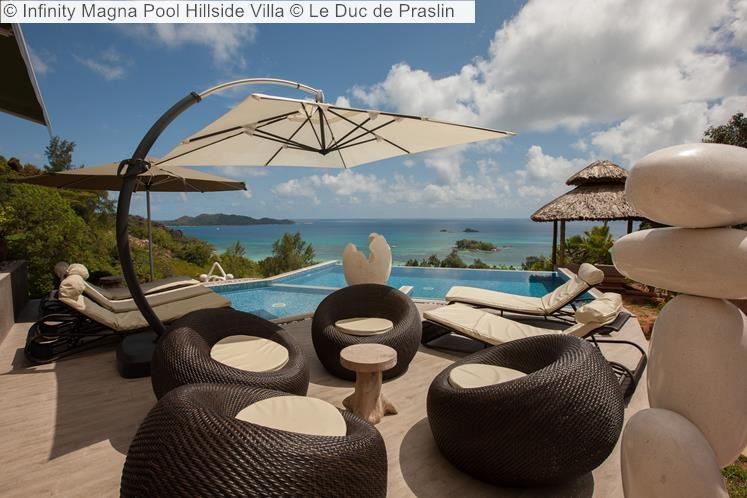 Infinity Magna Pool Hillside Villa Le Duc de Praslin