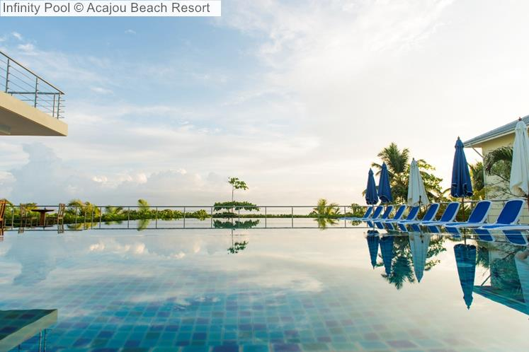 Infinity Pool © Acajou Beach Resort
