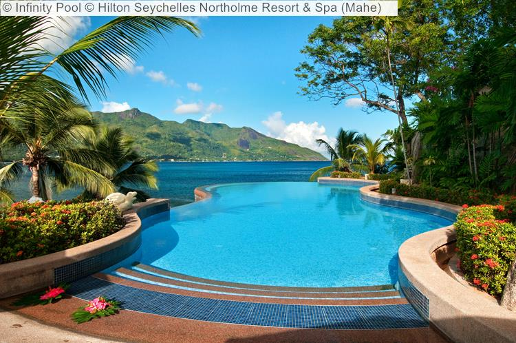 Infinity Pool © Hilton Seychelles Northolme Resort & Spa (Mahe)
