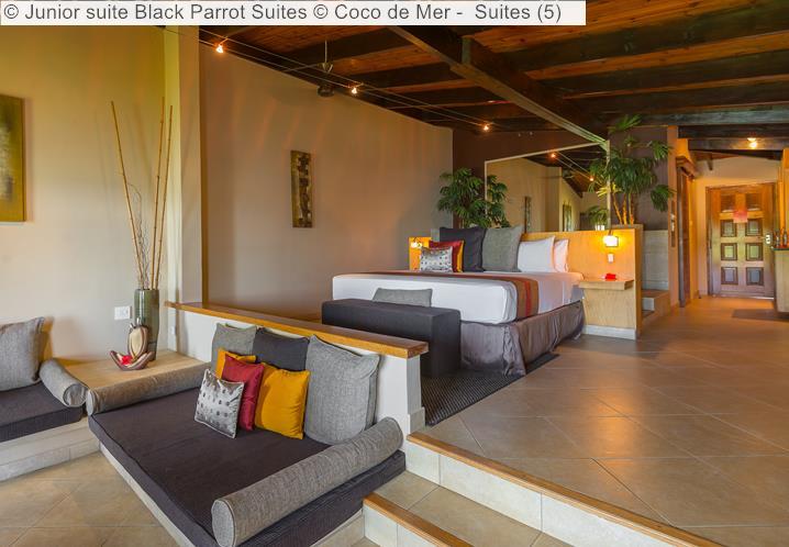 Junior Suite Black Parrot Suites © Coco De Mer Suites