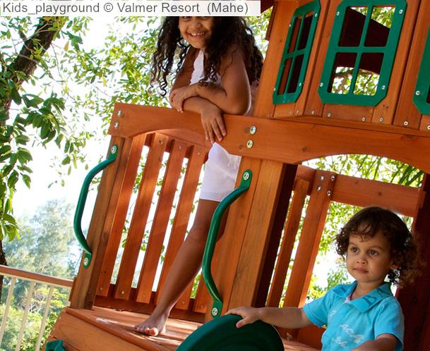 Kids Playground © Valmer Resort (Mahe)