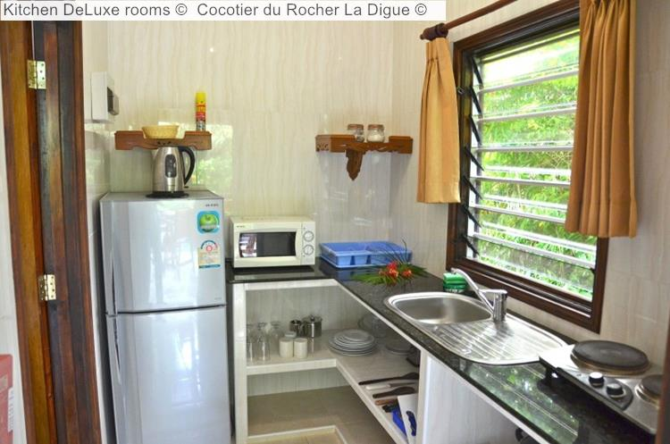Kitchen DeLuxe Rooms © Cocotier Du Rocher La Digue ©