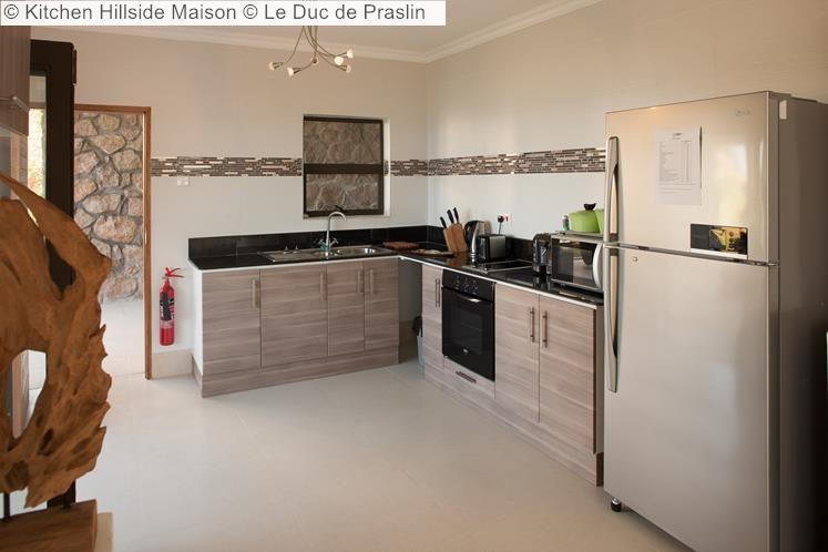 Kitchen Hillside Maison Le Duc de Praslin