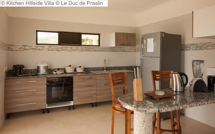 Kitchen Hillside Villa Le Duc de Praslin