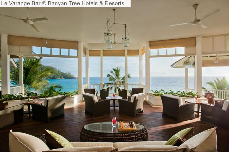 Le Varange Bar © Banyan Tree Hotels & Resorts (Seychelles)