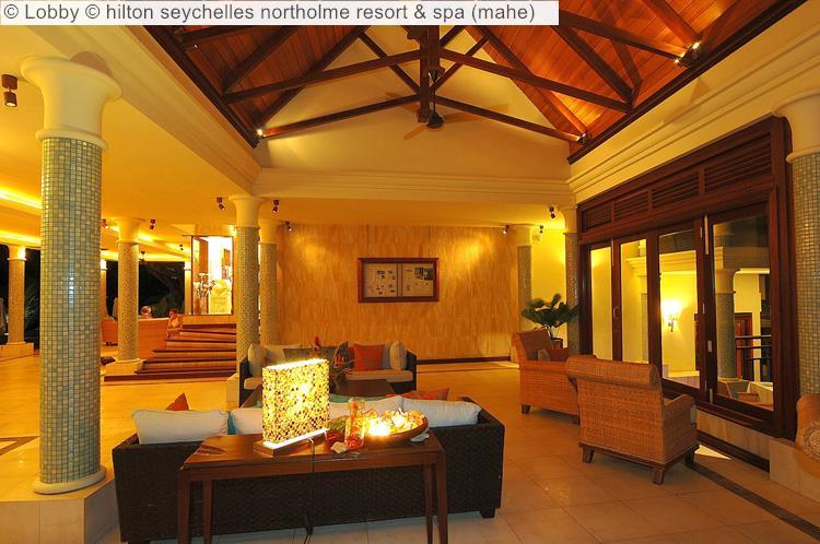 Lobby hilton seychelles northolme resort spa mahe