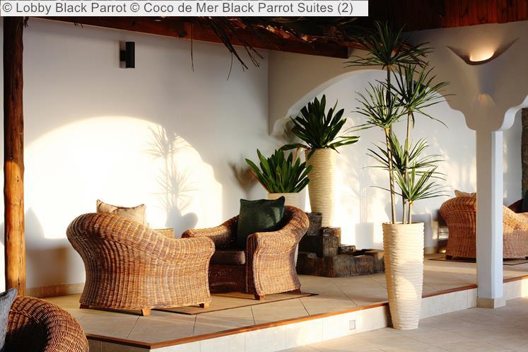 Lobby Black Parrot © Coco De Mer Black Parrot Suites
