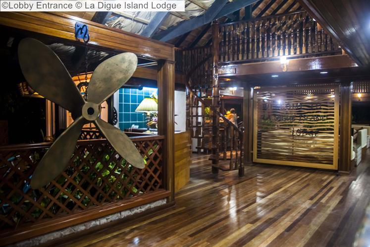 Lobby Entrance © La Digue Island Lodge