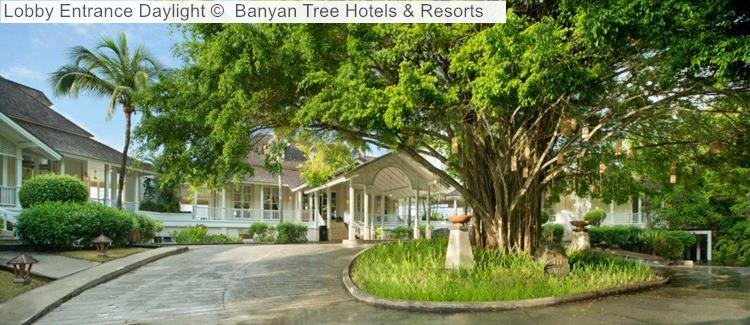 Lobby Entrance Daylight Banyan Tree Hotels Resorts Seychelles