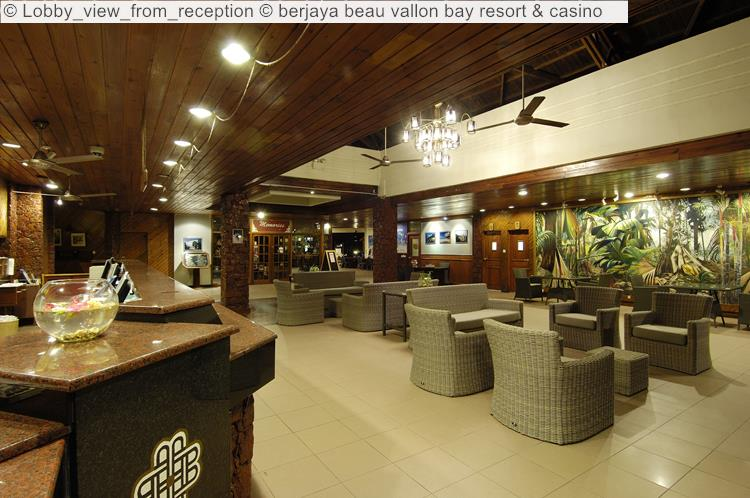 Lobby View From Reception © Berjaya Beau Vallon Bay Resort & Casino