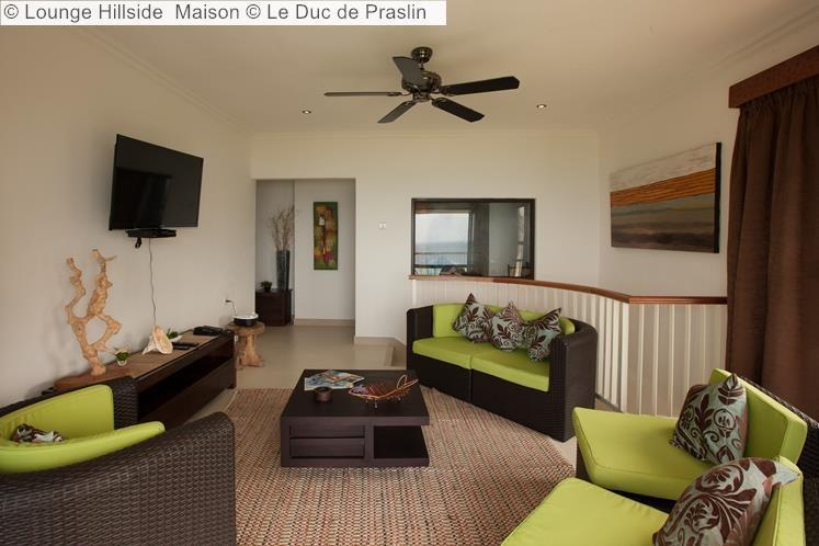 Lounge Hillside Maison Le Duc de Praslin