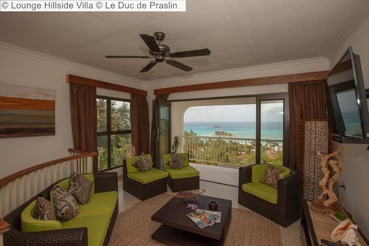 Lounge Hillside Villa Le Duc de Praslin