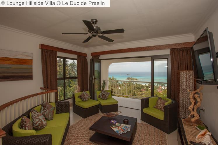 Lounge Hillside Villa © Le Duc De Praslin