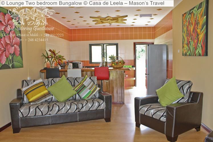 Lounge Two bedroom Bungalow Casa de Leela – Mason's Travel