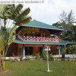 Main House © La Diguoise (la Digue Seychellen) ©