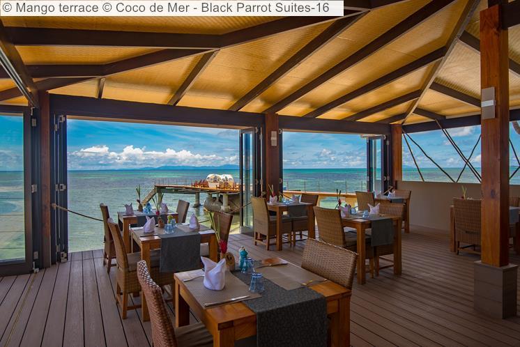 Mango terrace Coco de Mer Black Parrot Suites
