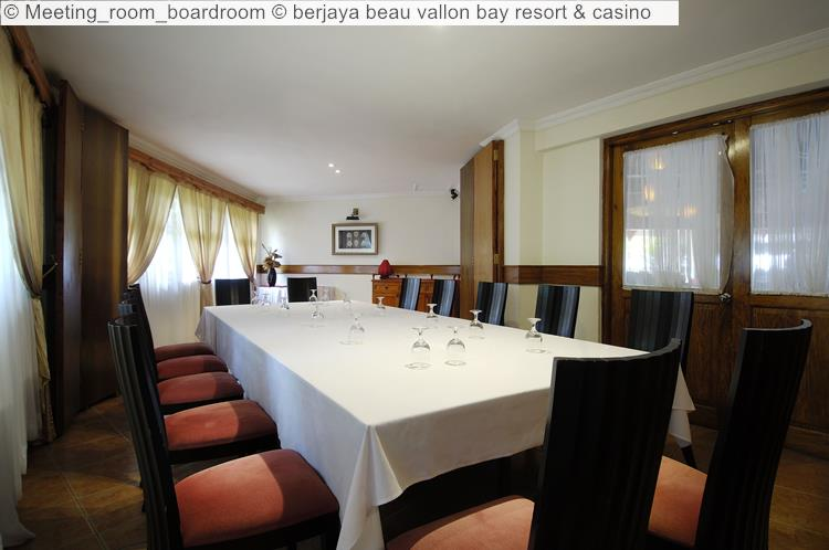 Meeting Room Boardroom © Berjaya Beau Vallon Bay Resort & Casino