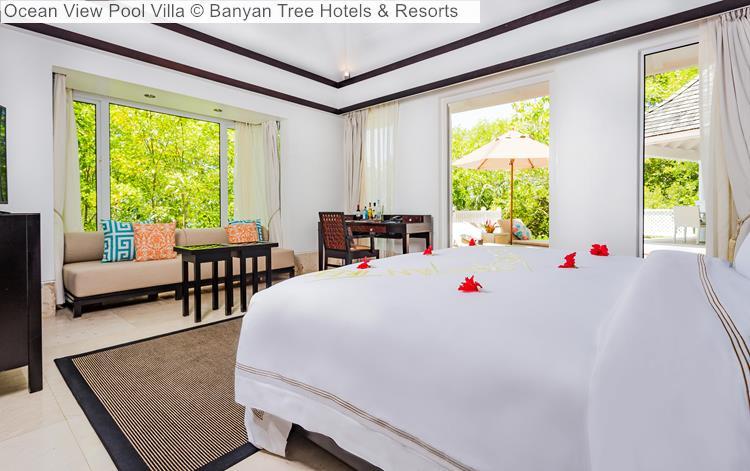 Ocean View Pool Villa Banyan Tree Hotels Resorts Seychelles