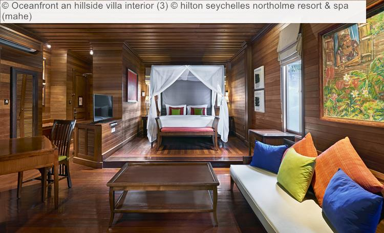 Oceanfront An Hillside Villa Interior (3) © Hilton Seychelles Northolme Resort & Spa (mahe)