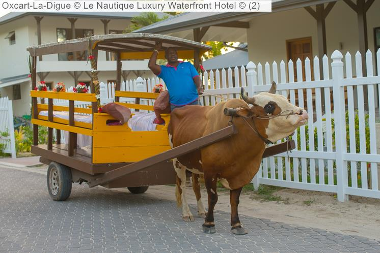 Oxcart La Digue © Le Nautique Luxury Waterfront Hotel ©
