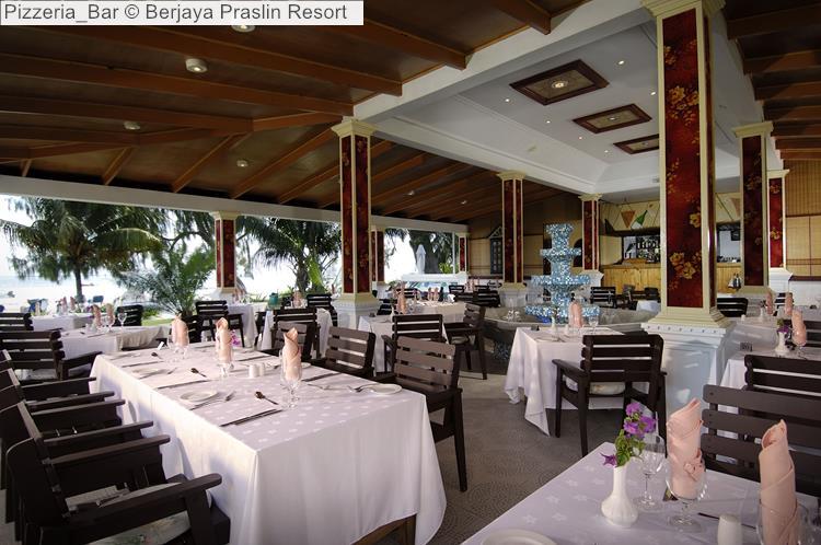 Pizzeria Bar © Berjaya Praslin Resort