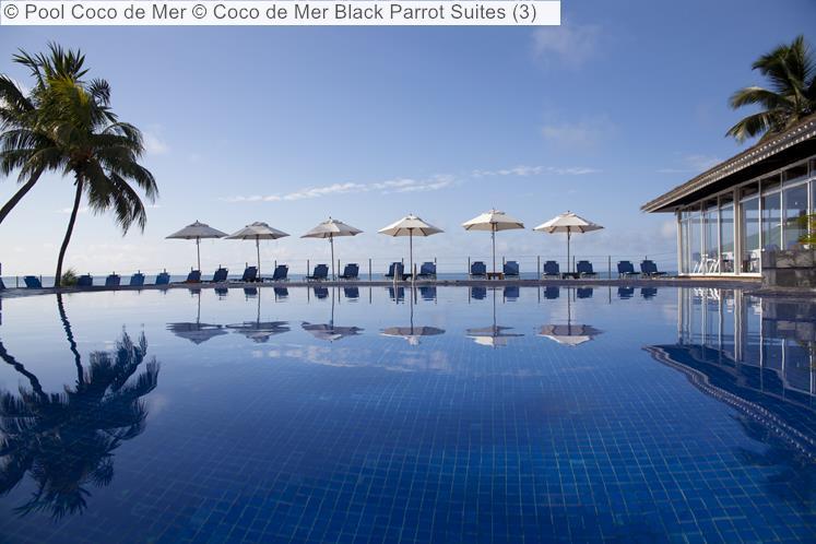 Pool Coco de Mer Coco de Mer Black Parrot Suites