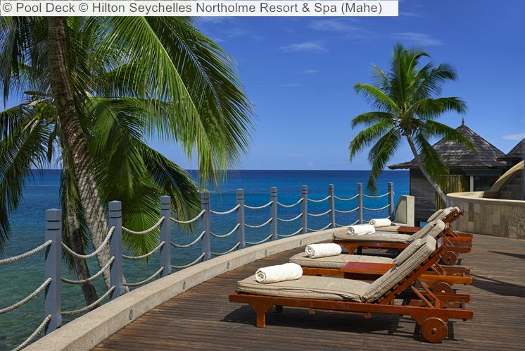 Pool Deck © Hilton Seychelles Northolme Resort & Spa (Mahe)