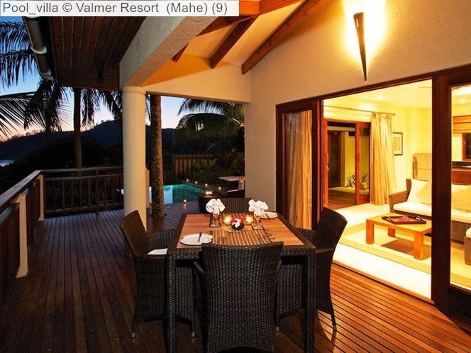 Pool villa Valmer Resort Mahe